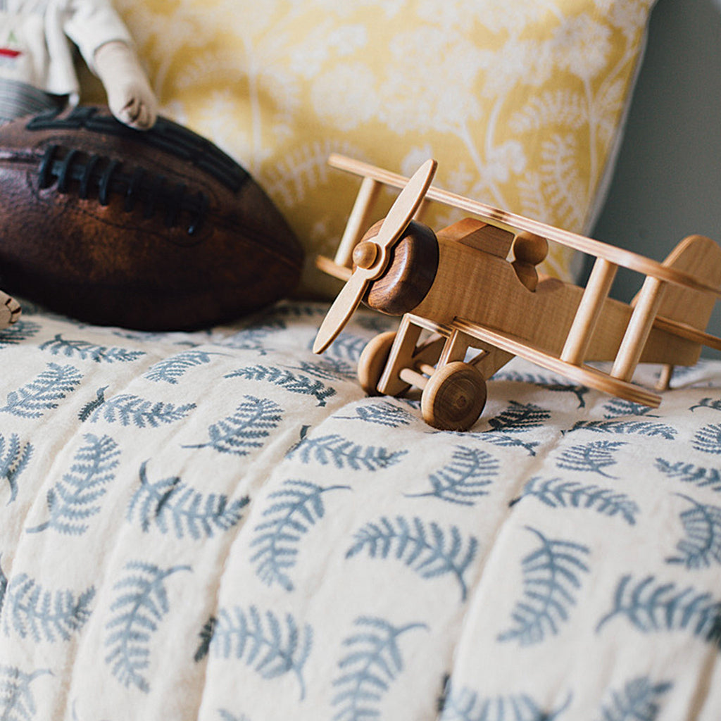 Win a hand-printed quilt from Madder, Cutch & Co