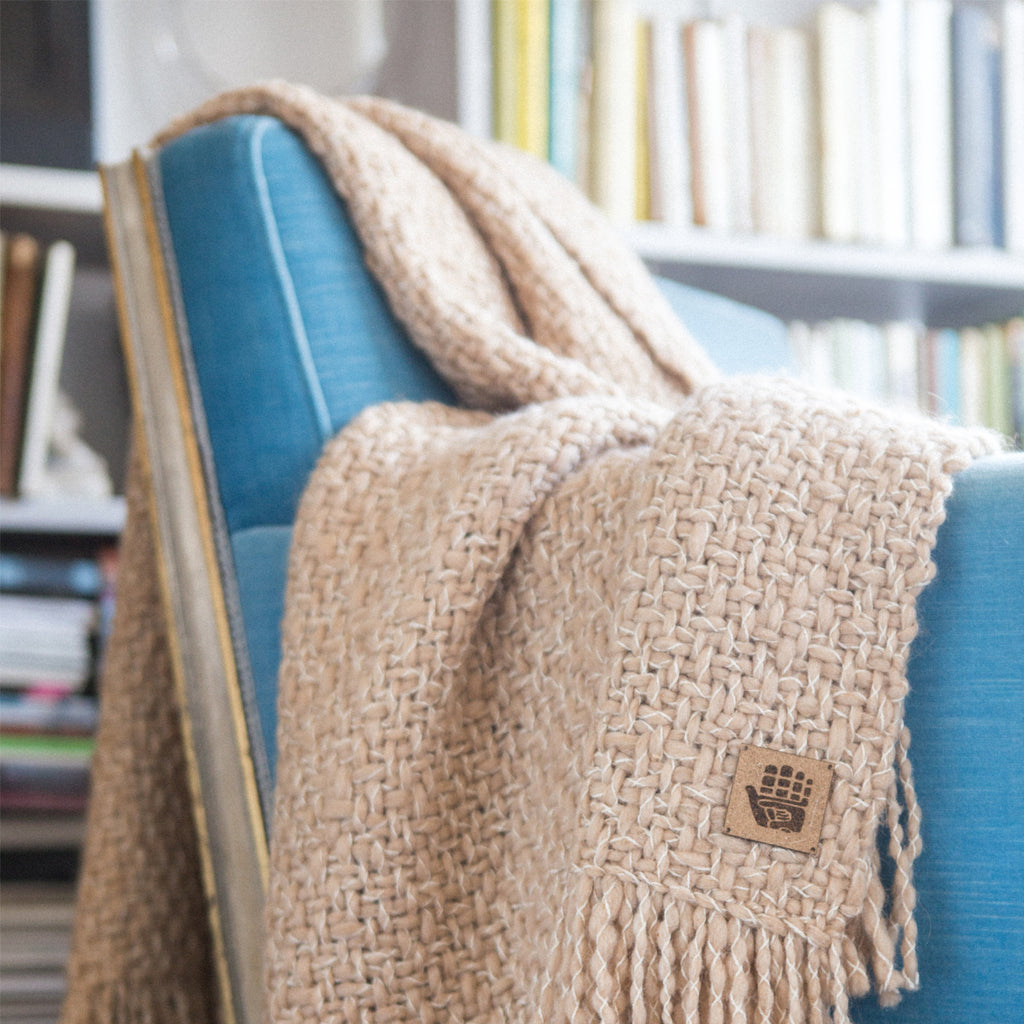 Win a Manos del Uruguay Camel Throw