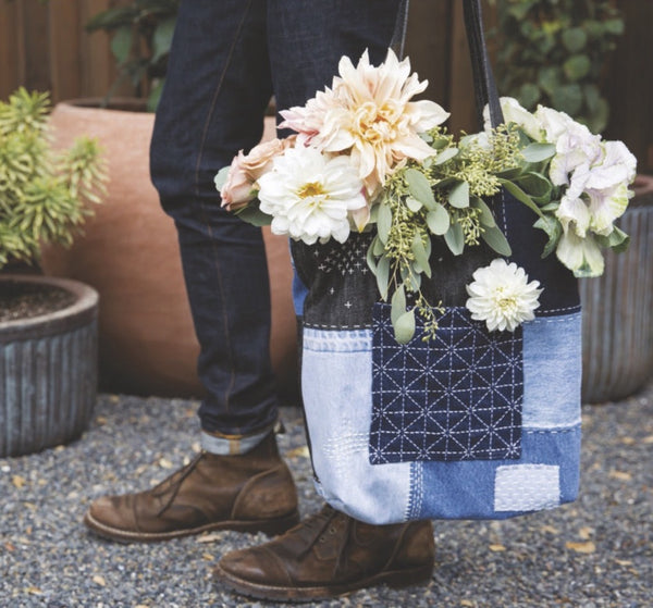 How to make a boro inspired tote - Selvedge Magazine