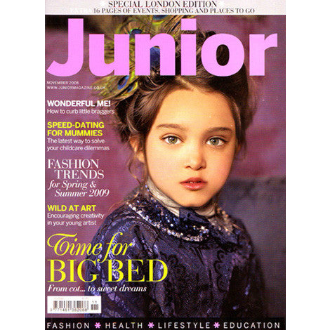 Junior Magazine, January 2009 - Selvedge Magazine