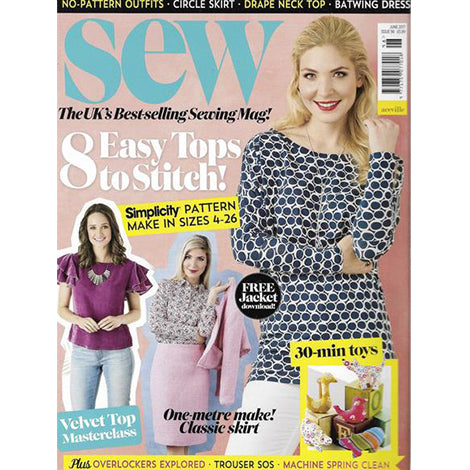 Sew Magazine, June 2017