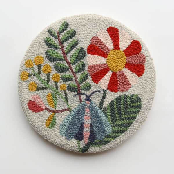 Saturday 9 & Sunday 10 October 2021, Punch Needle Embroidery, Virtual Workshop with Arounna Khounnoraj