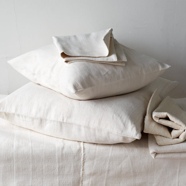 Antique, Linen Cushion Cover - Selvedge Magazine