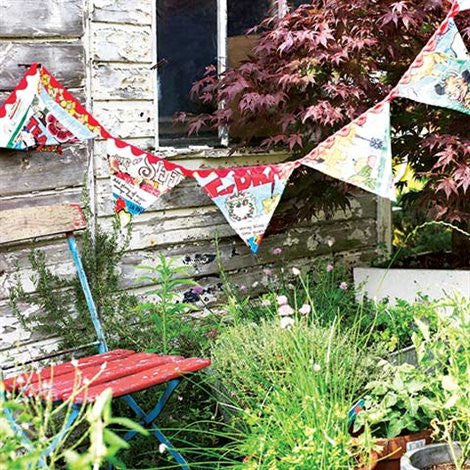 How to make vintage bunting - Selvedge Magazine