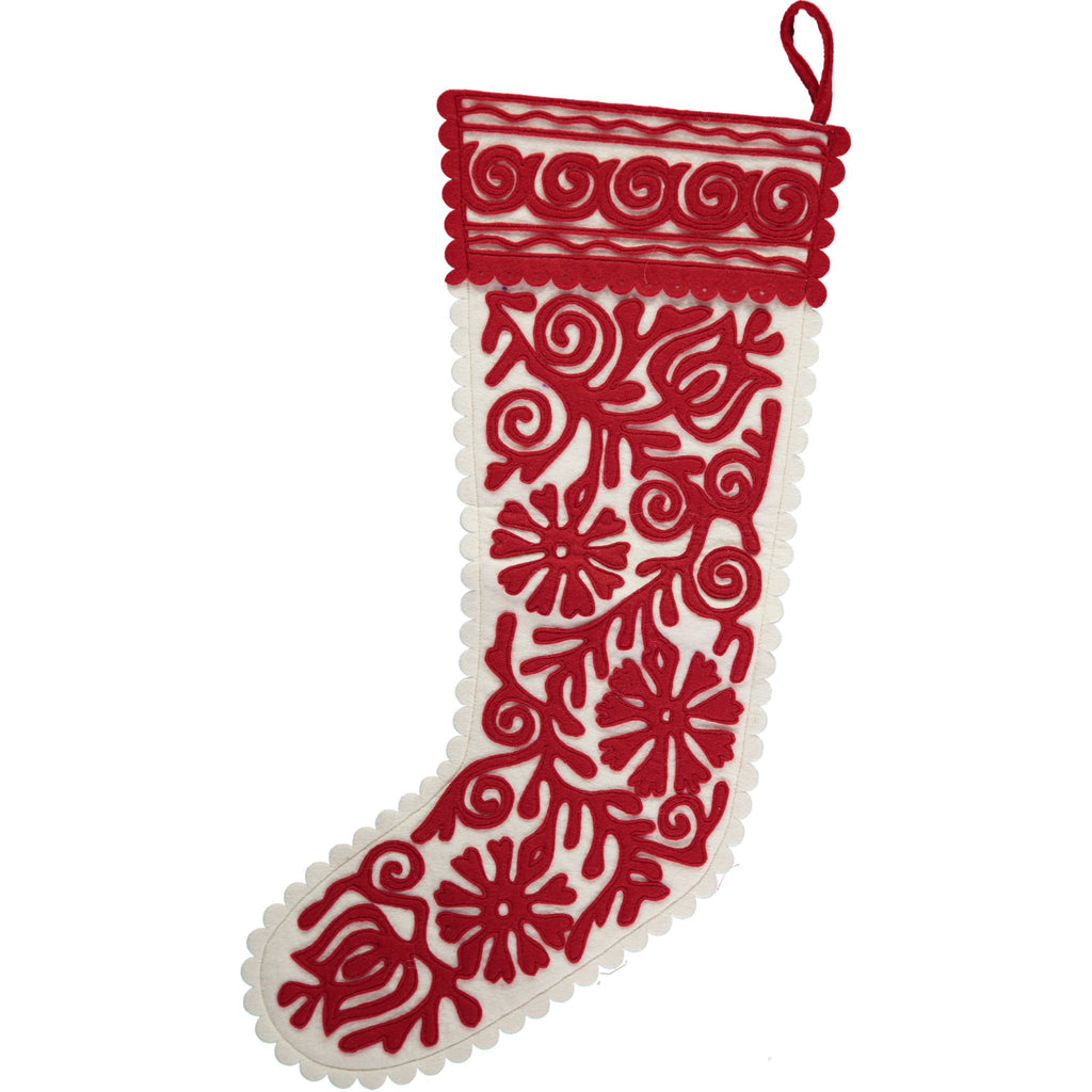 How to make a felt stocking - Selvedge Magazine
