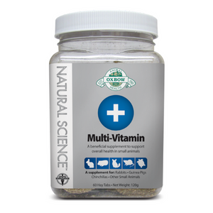 Oxbow Suplemento Natural Science Multi-Vitamínico 60tabs