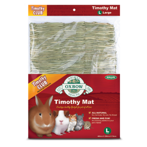 Tapete Oxbow De Pasto Timothy para Conejos Cuyos Chinchillas Hamsters