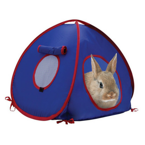 Carpa escondite para conejos Living World