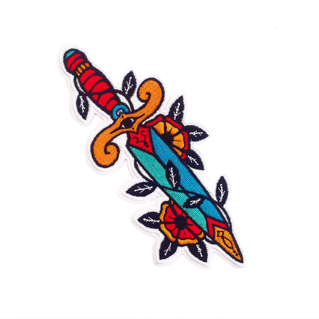 Dagger & Pinwheels Patch