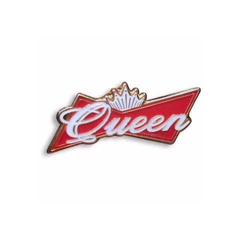 "Budweiser ""Queen"" Enamel Pin"
