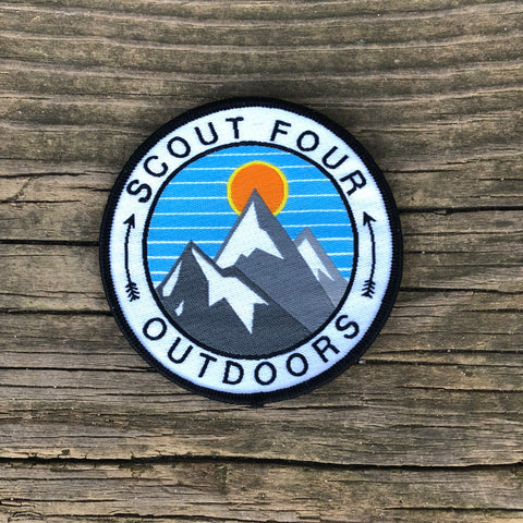 Scout Four Outdoors Mountains Patch