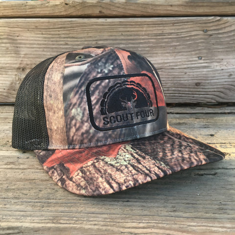 Scout Four Outdoors Shadow Camo Trucker Hat Camouflage