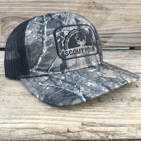 Scout Four Outdoors Realtree Timber Camo Trucker Hat