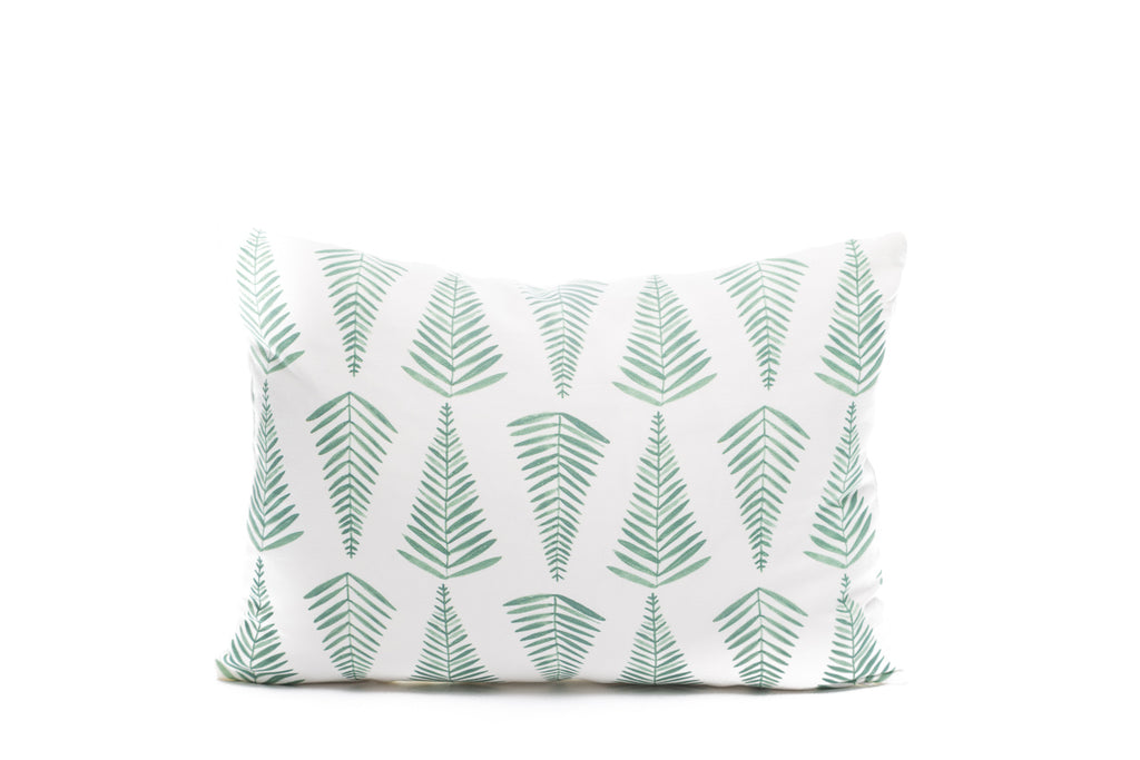 Ferns in Sage Green Pillows