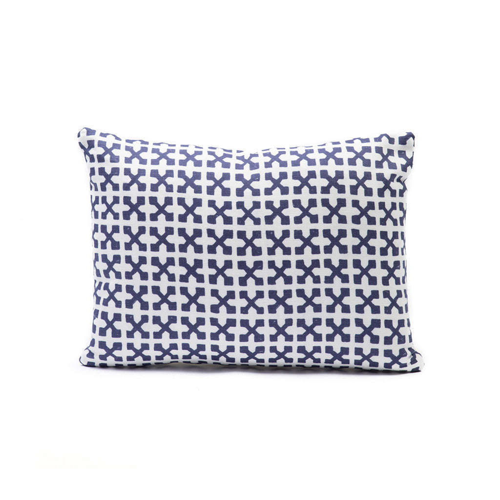 Jacks in Navy Pillows