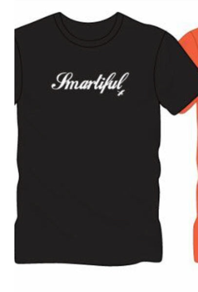 Black or Heather Grey Smartiful Women's Short Sleeve T
