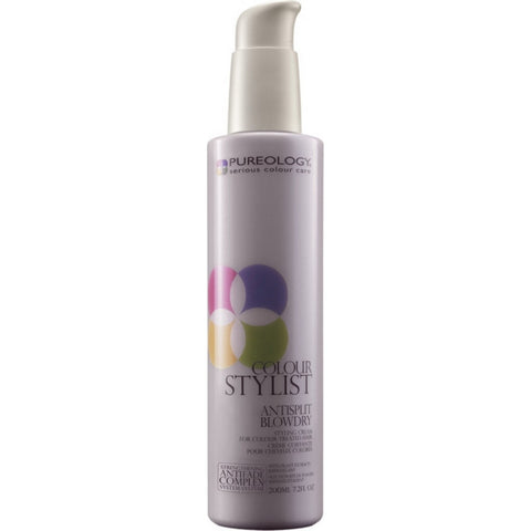 Pureology Colour Stylist Anti-Split Blow Dry Styling Cream (7.2 fl oz / 200 ml)