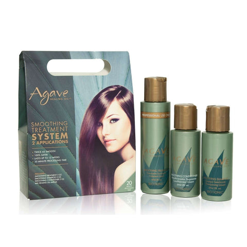 Agave Healing Oil Smoothing Treatment 2 Application Kit (set)