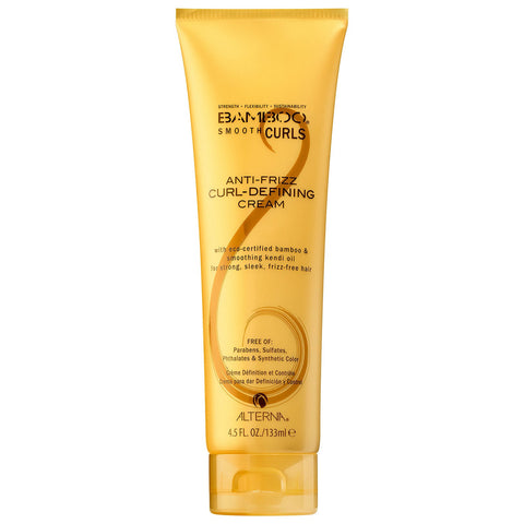 Alterna Bamboo Smooth Curls Anti-Frizz Curl Defining Cream (4.5 fl oz / 133 ml)