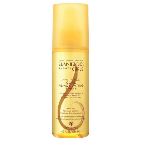 Alterna Bamboo Smooth Curls Anti-Frizz Curl Re-Activating Spray (4.2 fl oz / 125 ml)