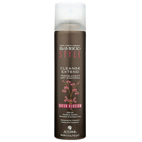 Alterna Bamboo Style Cleanse Extend Translucent Dry Shampoo - Sheer Blossom (4.75 oz / 135 g)