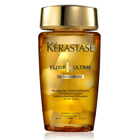 Kerastase Paris [Elixir Ultime] Sublime Cleansing Oil Shampoo (250 ml / 8.5 fl oz)