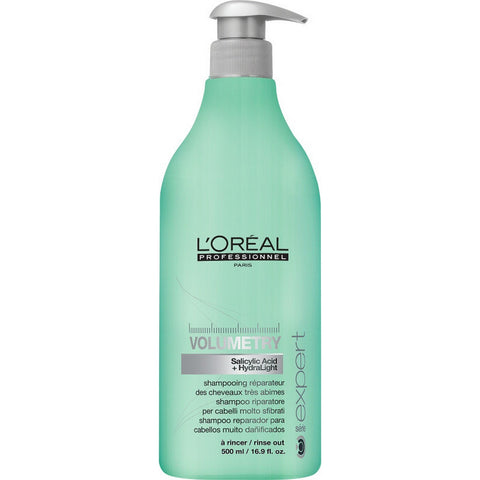 L'Oreal Professionnel Volumetry Shampoo (16.9 fl.oz. / 500 ml)