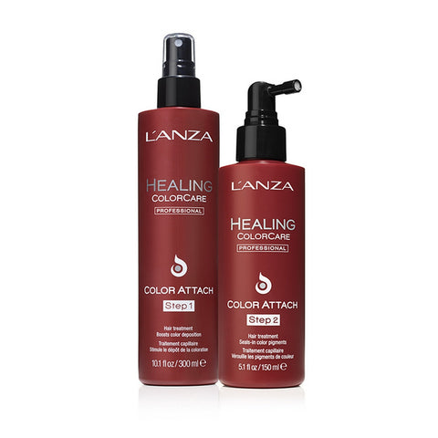 Lanza Healing Colorcare Color Attach Step 1 And 2 Duo (set) ($48.50 value)