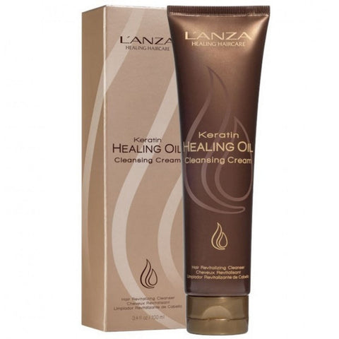 Lanza Keratin Healing Oil Cleansing Cream (3.4 oz)