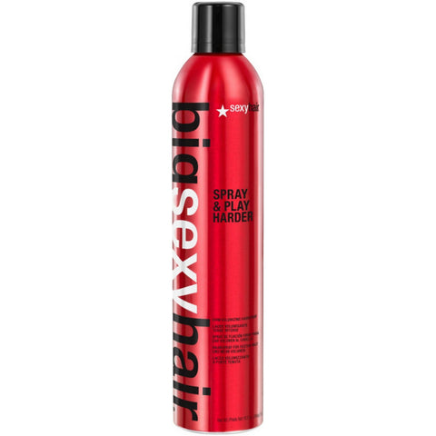 SEXY HAIR Big Sexy Hair Spray & Play Harder Firm Volumizing Hairspray (10 oz / 335 ml)