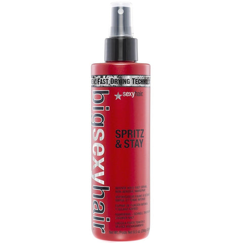 SEXY HAIR Big Sexy Hair Spritz & Stay Intense Hold Fast Drying Non-Aerosol Hairspray (8.5 oz / 250 ml)