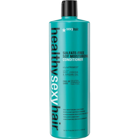 Sexy Hair Healthy Sexy Hair Sulfate-Free Soy Moisturizing Conditioner (33.8 fl oz / 1000 ml)