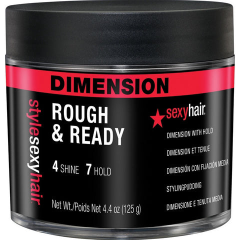 Sexy Hair Style Sexy Hair Rough & Ready Dimension with Hold (4.4 oz / 125 g)
