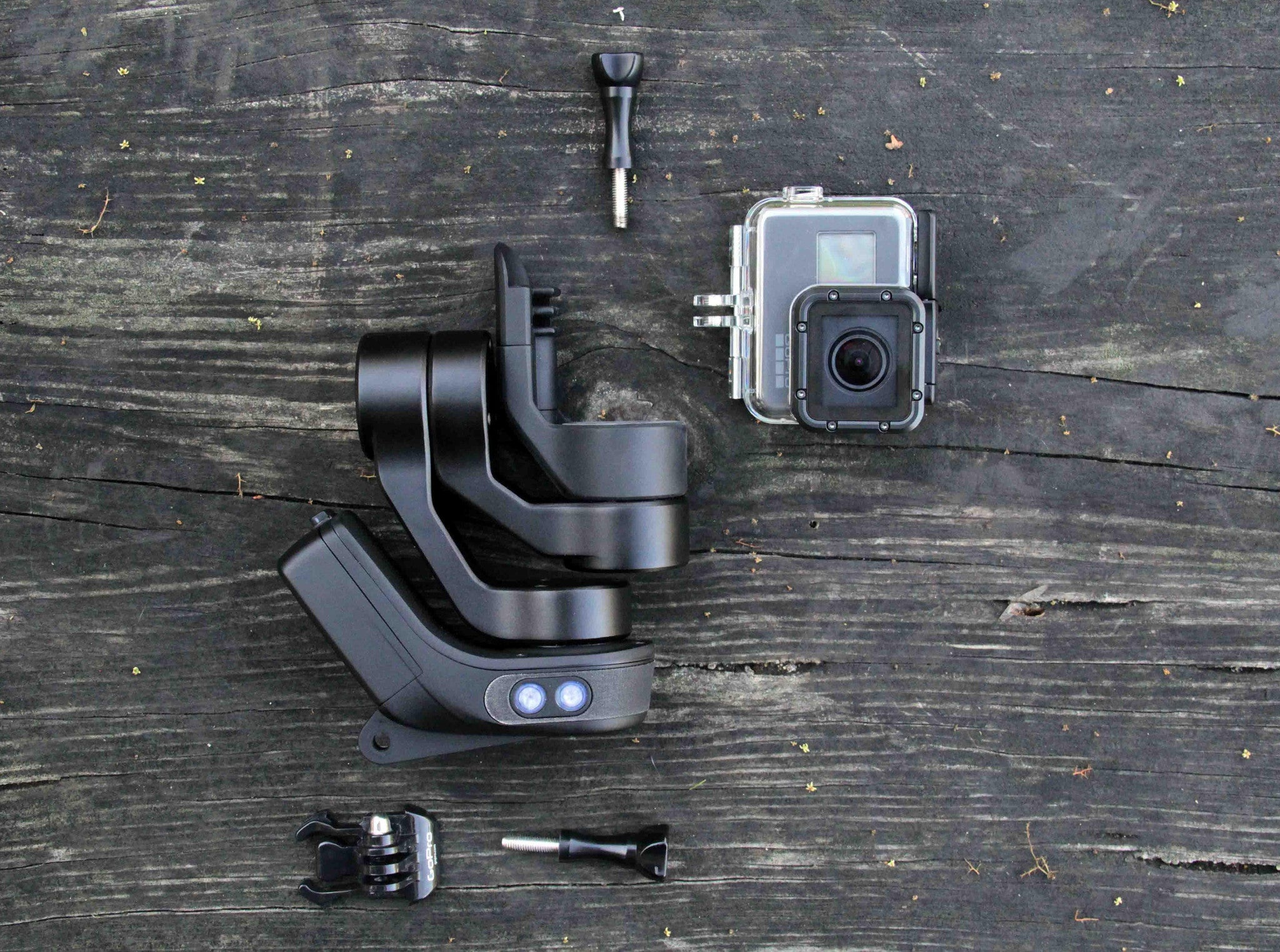 Slick GoPro Gimbal packaging, manufacturing and testing with the GoPro 5 Supersuit!