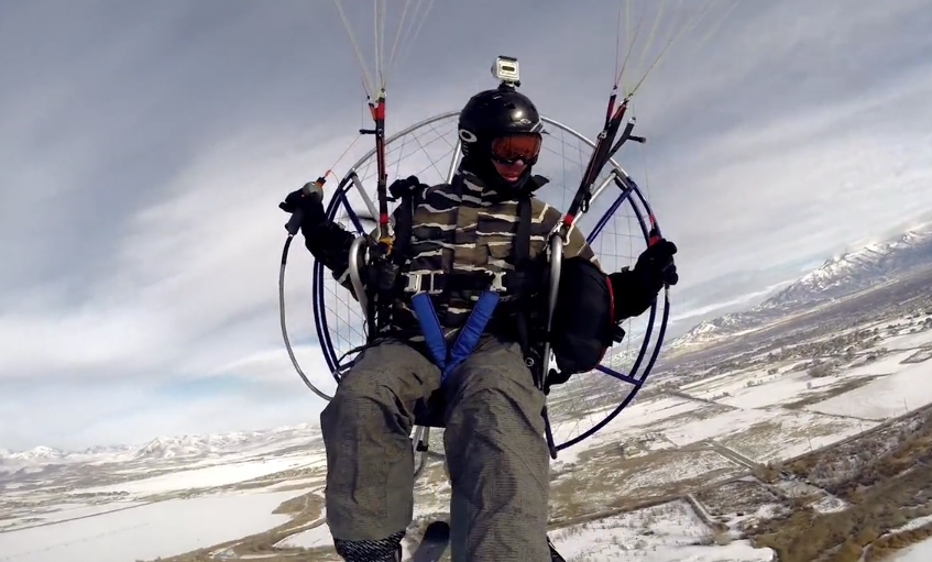 Paramotor Is A Pretty Cool Sport