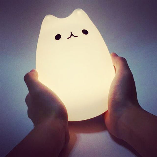 Cat LED Night Light ( TOUCH )