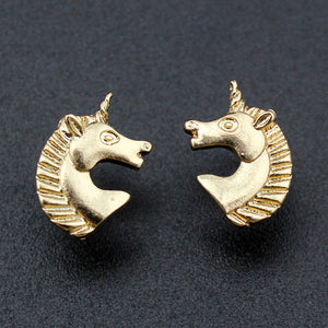 Unicorn Head Earrings