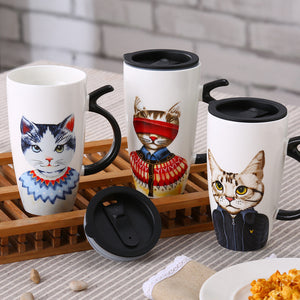 Large Mr.Cat Mug