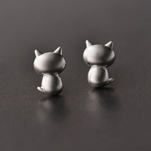 Backview Cat Earrings