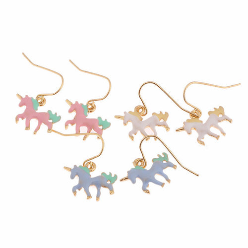 Sweet Pastel Unicorn Earrings