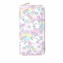 Colorful Cartoon Unicorn Wallet
