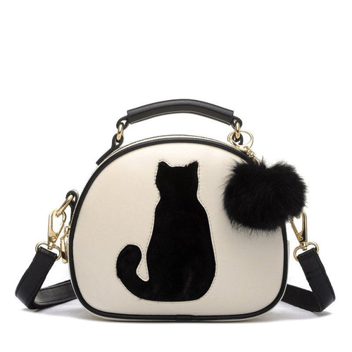 Cat & Fur Ball Handbag