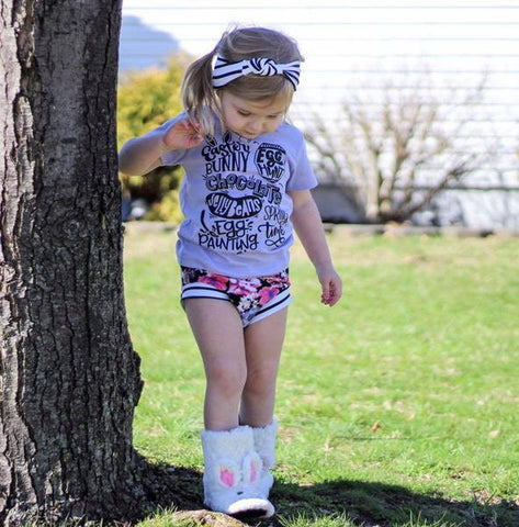Easter Bucket List Tee - Toddler Holiday Outfit Ideas