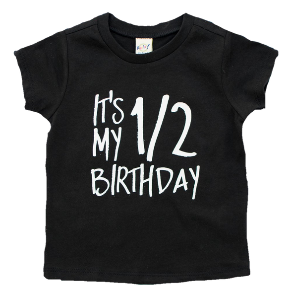 It's my first half birthday outfit