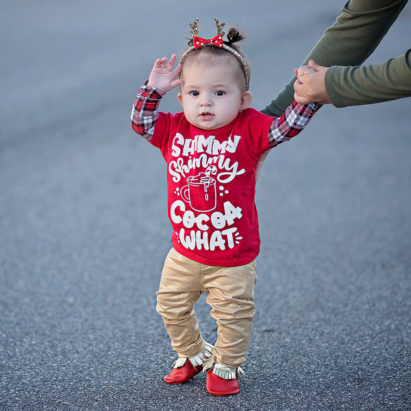 Shimmy Shimmy Cocoa What - Unisex Christmas Shirt