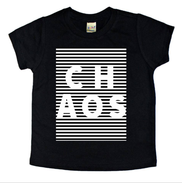 Chaos t shirt - trendy kids clothes