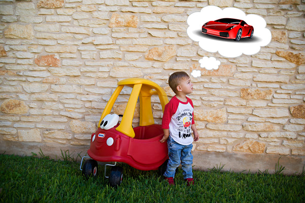 All I wanna do is zooma zoom - little tikes car shirt