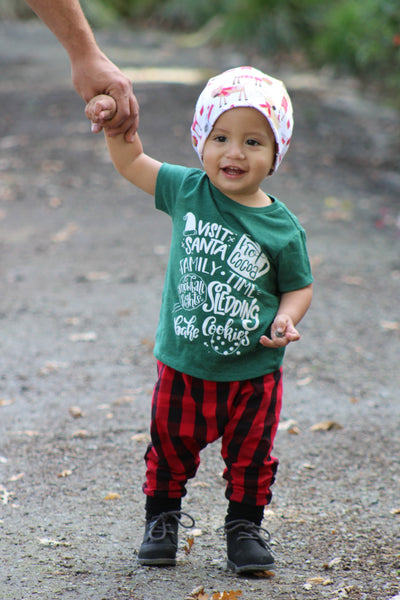 Christmas Outfit with Green Bucket List Tee
