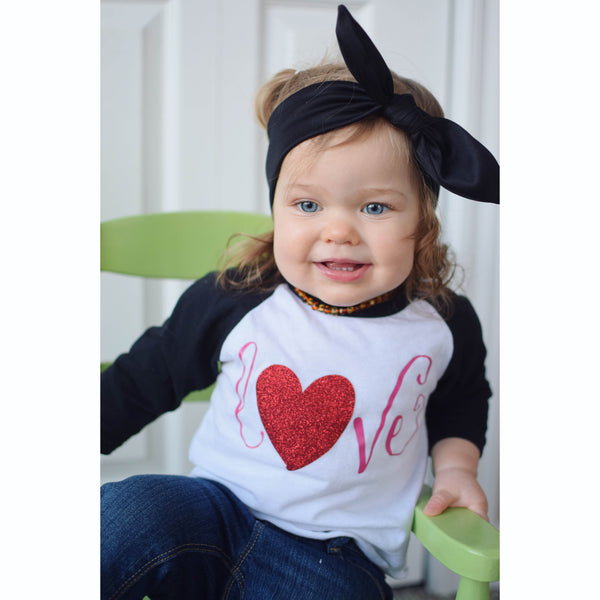 Love Shirt - Raglan for girl