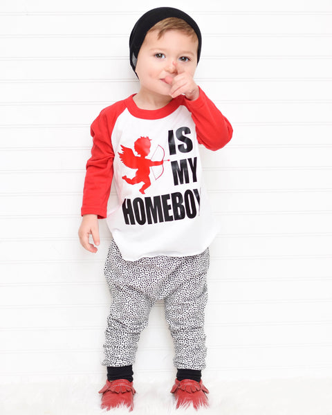 Valentines Outfit for Baby Boy
